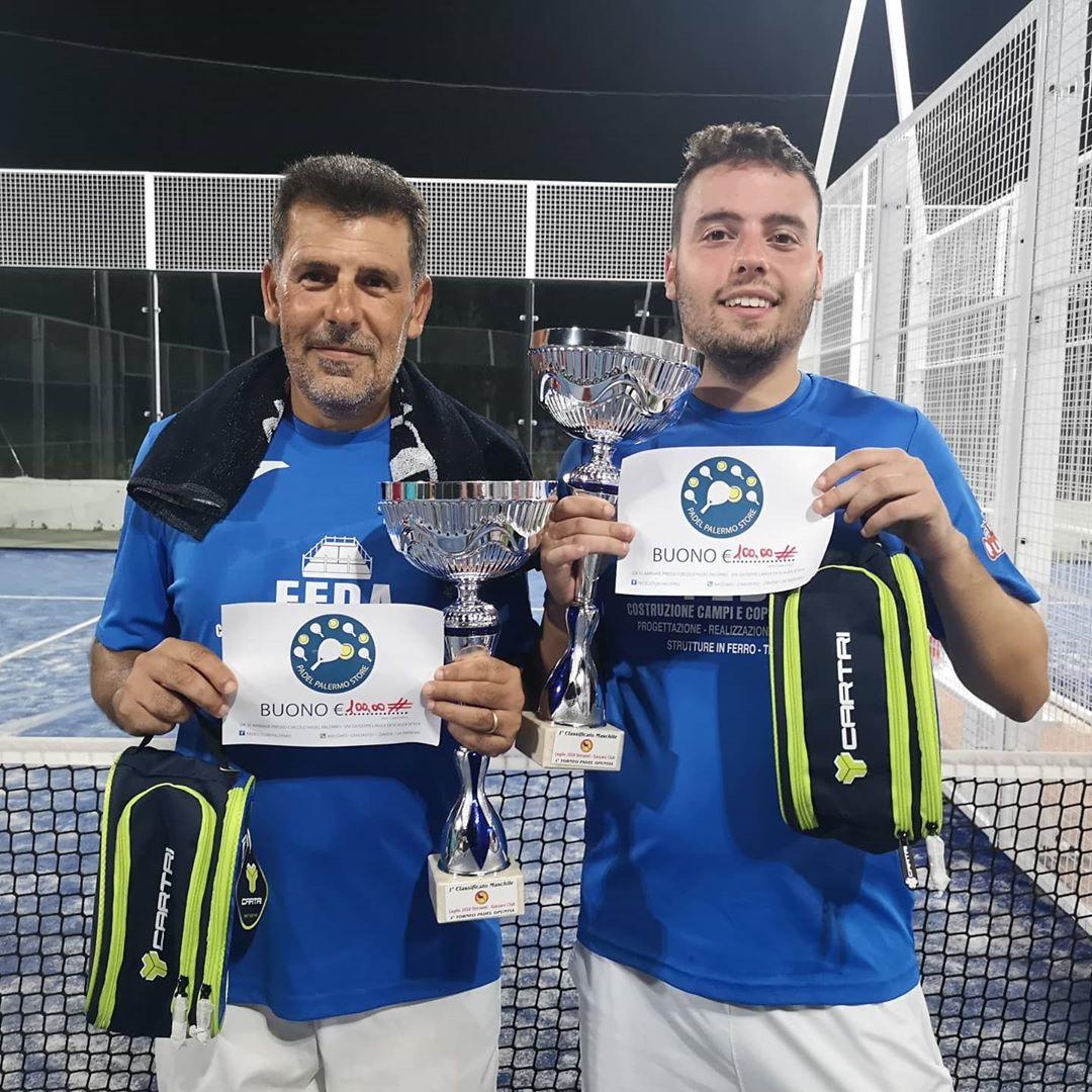 Circolo Opuntia di Terrasini, il primo torneo di padel è un successo: sfiorati i cento iscritti